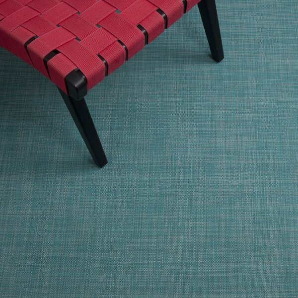 Turquoise Area Rug by Chilewich