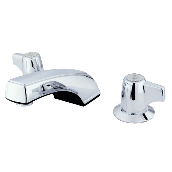 Americana Widespread Bathroom Faucet with Drain Assembly by Kingston Brass