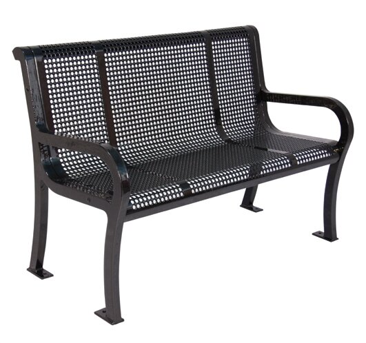 Metal Garden Bench by Ultra Play