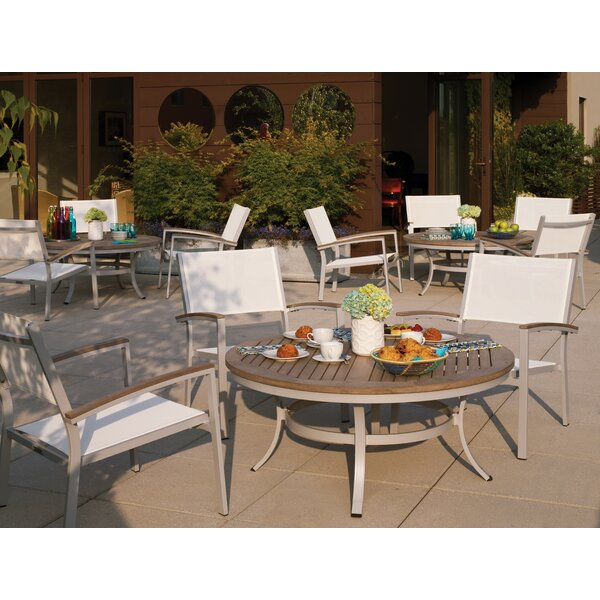 Maclin 5 Piece Teak Conversation Set by Latitude Run
