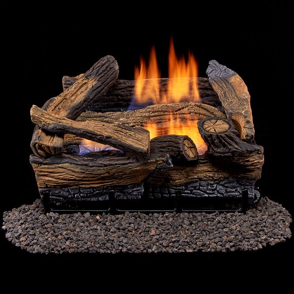 Gas Vent Free Propane Log By Duluth Forge