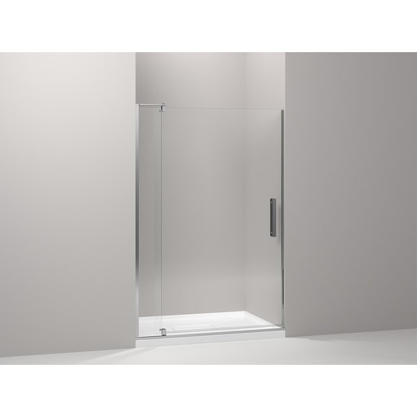 Revel 48'' x 70'' Pivot Shower Door with CleanCoat® Technology by Kohler