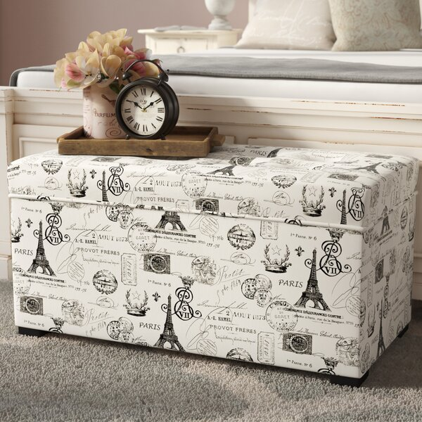 Pavot Upholstered Storage Bench by Lark Manor