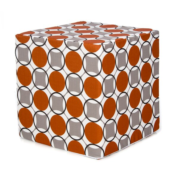 Bullen Decorative Cube Ottoman by Zoomie Kids