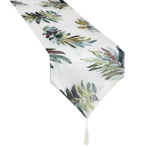 Meadow Decorative Sheer Table Runner by Charlton Home