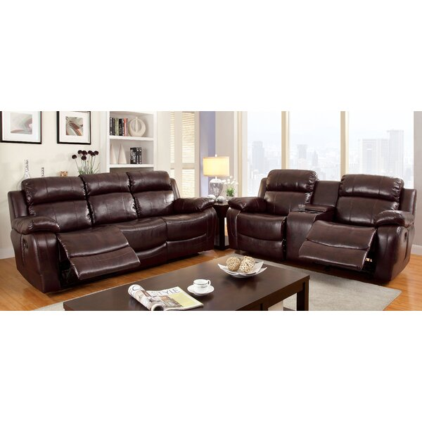Walfred Reclining Configurable Living Room Set by Hokku Designs