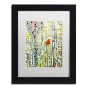 Alpha by Sylvie Demers Framed Painting Print by Trademark Fine Art
