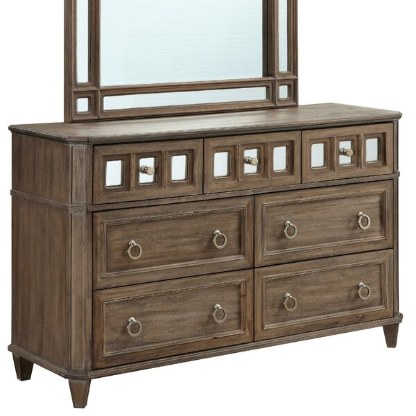 Roscommon 7 Drawer Standard Dresser by Canora Grey