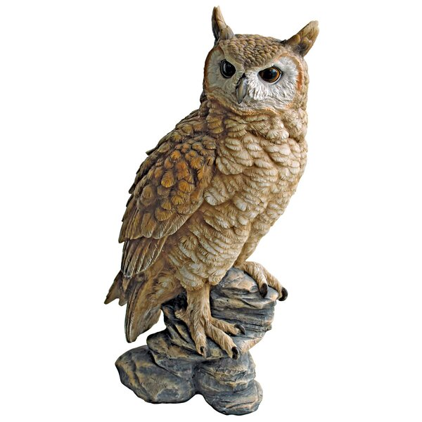 Perching Forest Owl Statue by Design Toscano