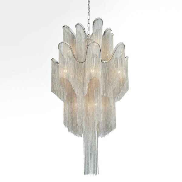 Bedolla 16 - Light Unique / Statement Tiered Chandelier By House Of Hampton