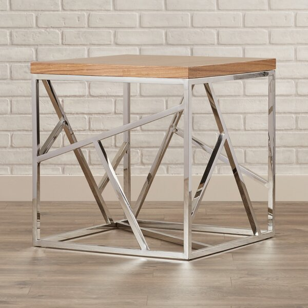 Hiller End Table by Brayden Studio