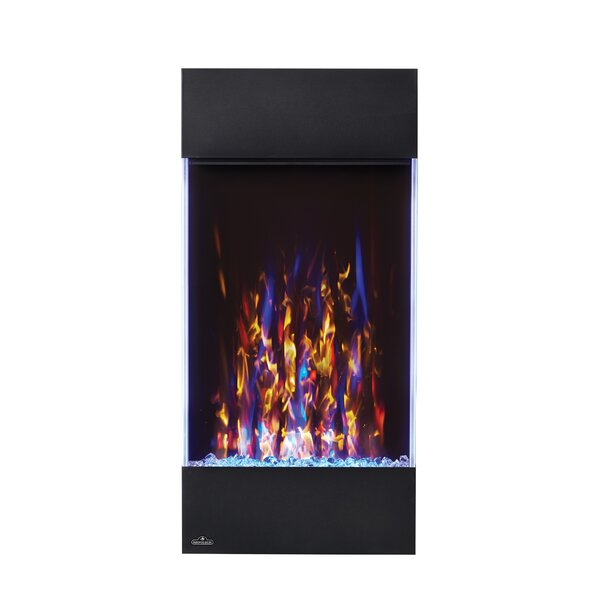 Allure Recessed Wall Mounted Electric Fireplace by Napoleon Napoleon