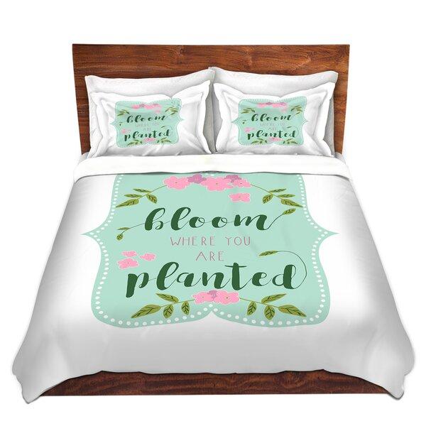 Bloom Where U Are Planted I Duvet Cover Set