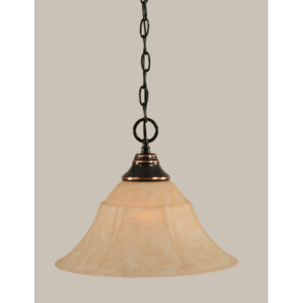 Pettit 1-Light Downlight Pendant by Red Barrel Studio