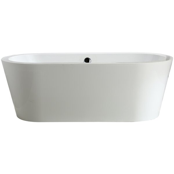 Melania 68 x 32 Soaking Bathtub by Vinnova