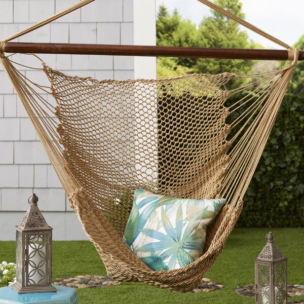 Brenda Caribbean Polyester Chair Hammock by Mistana