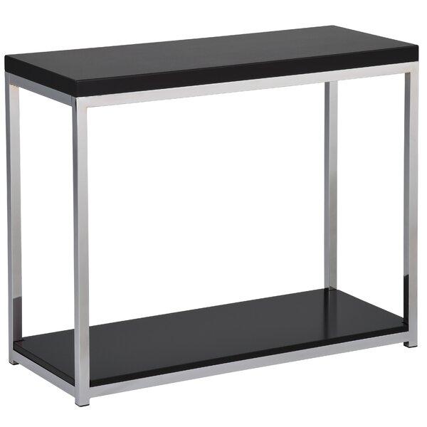 Wade Logan Black Console Tables