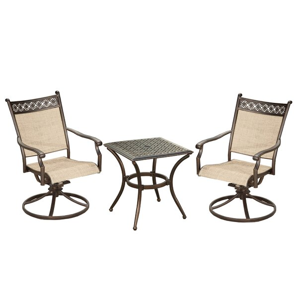 Dreer 3 Piece Bistro Set by Red Barrel Studio