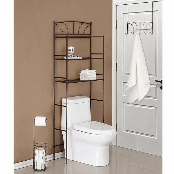 Palm 23.1 W x 65.75 H Over the Toilet Storage by BEST LIVING INC