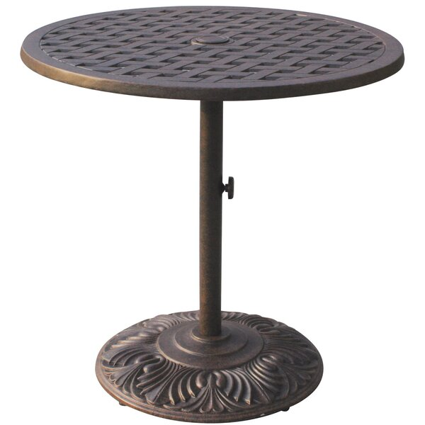 Mckinney Metal Bar Table by Astoria Grand