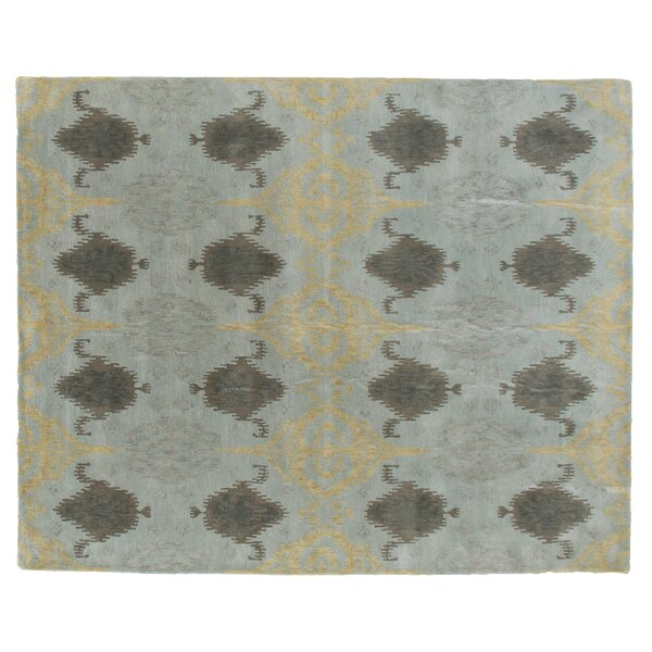 Baby Hand-Tufted Wool Blue Area Rug by Exquisite Rugs