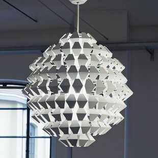 Agave 7-Light Geometric Chandelier by ZANEEN design