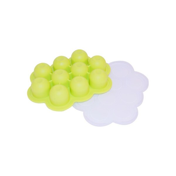 10 Cup Non-Stick Silicone Baby Food/Ice Cube Tray by ALEKO