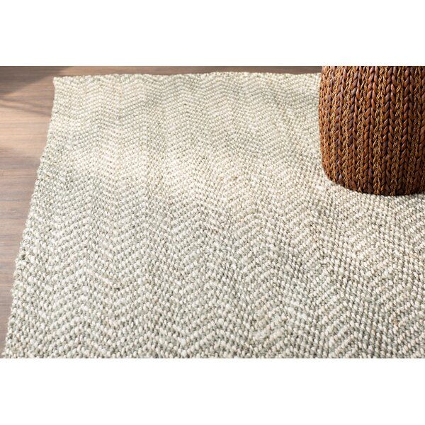 Sibley Hand-Woven Jute Area Rug by Birch Lane™