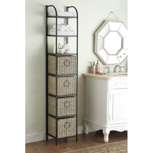 Kiowa 15 W x 71.5 H Bathroom Shelf by Laurel Foundry Modern Farmhouse