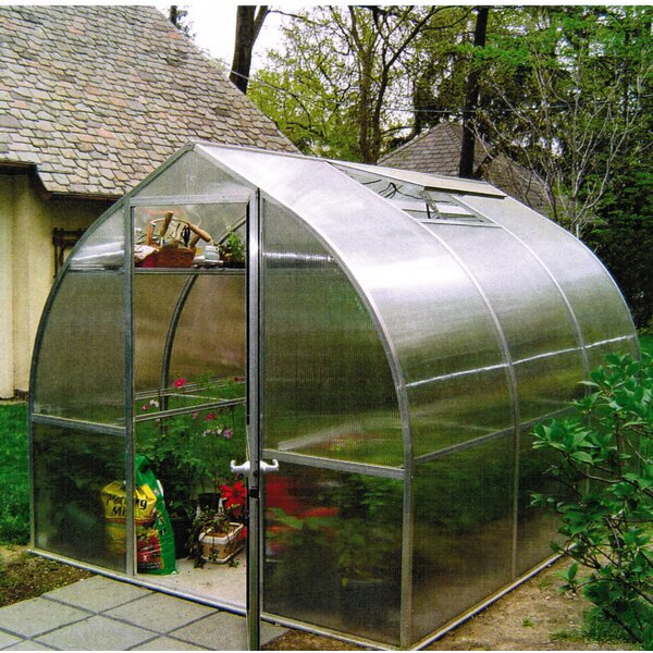 Riga III 9.67 Ft. W x 10.5 Ft. D Greenhouse by Hoklartherm