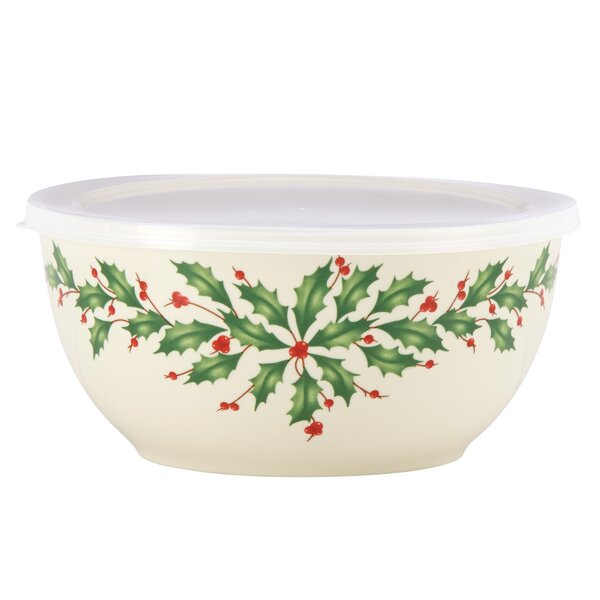 Holiday Soup Bowl with Lid by Lenox