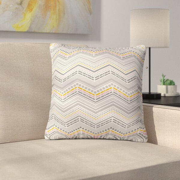 Indoor/Outdoor Throw Pillow by East Urban Home
