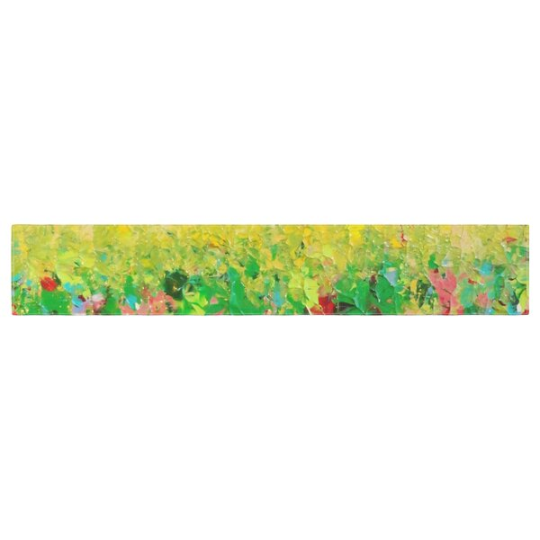 Ebi Emporium My Paintings Table Runner by East Urban Home
