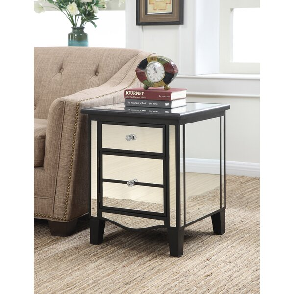 Moya End Table With Storage By Willa Arlo Interiors