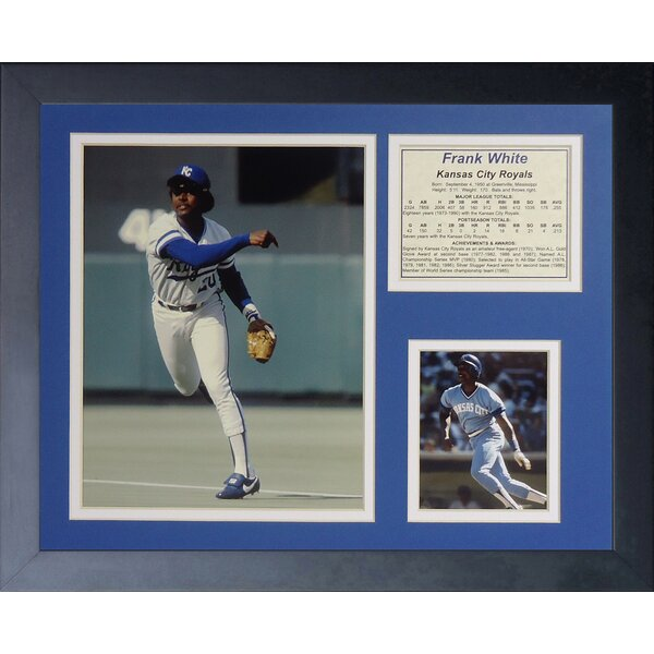Frank White Framed Memorabilia by Legends Never Die