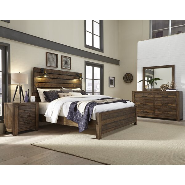 Emst Panel 4 Piece Bedroom Set by 17 Stories