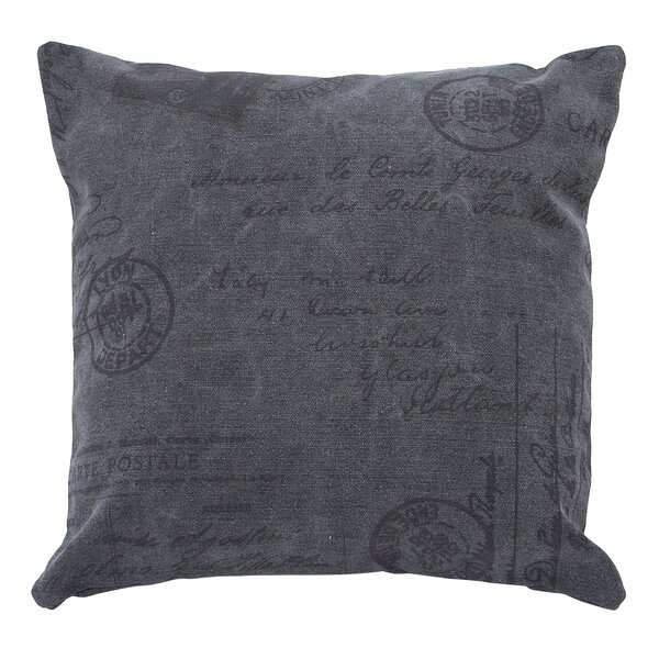 Cotton Throw Pillow by Woodland Imports