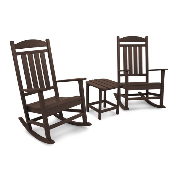 Presidential Rocking Chair 3-Piece Set by POLYWOOD®