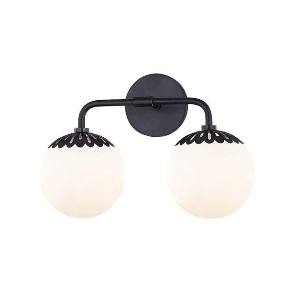 Huebner 2-Light Vanity Light by Mercer41
