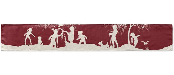 Snow Play Table Runner by KAVKA DESIGNS