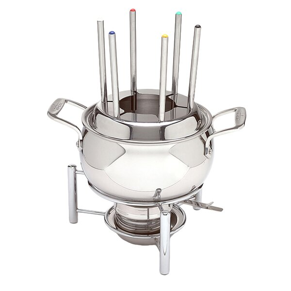 3 qt. Stainless Steel Fondue Set by All-Clad