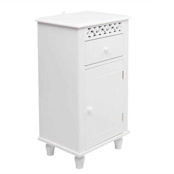 Glyndon 15.75 W x 28.35 H x 11.81 D Free-Standing Bathroom Cabinet