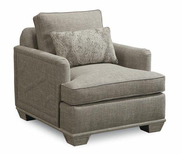 Carolin Gray Arm Chair by One Allium Way