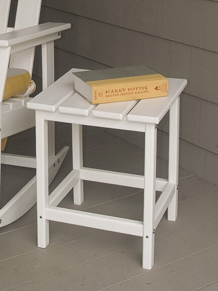 Long Island Plastic/Resin Side Table by POLYWOOD®