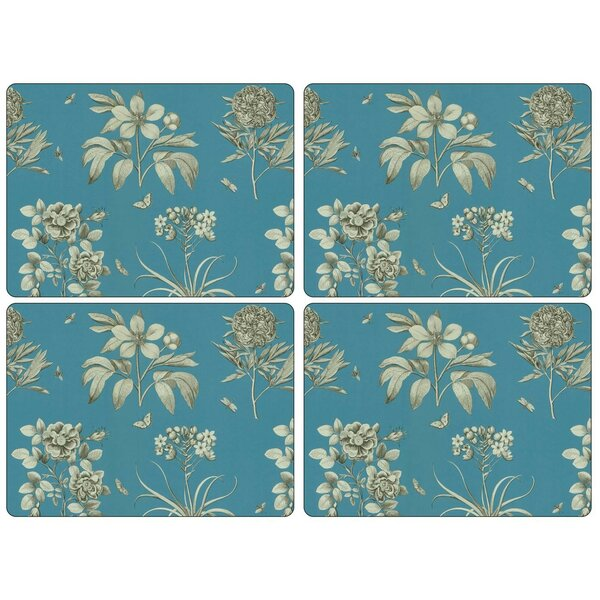 Sanderson Etchings and Roses Placemat (Set of 4) by Pimpernel