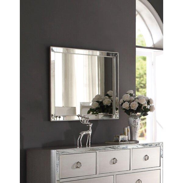 Hester Rectangular Dresser Mirror by Rosdorf Park