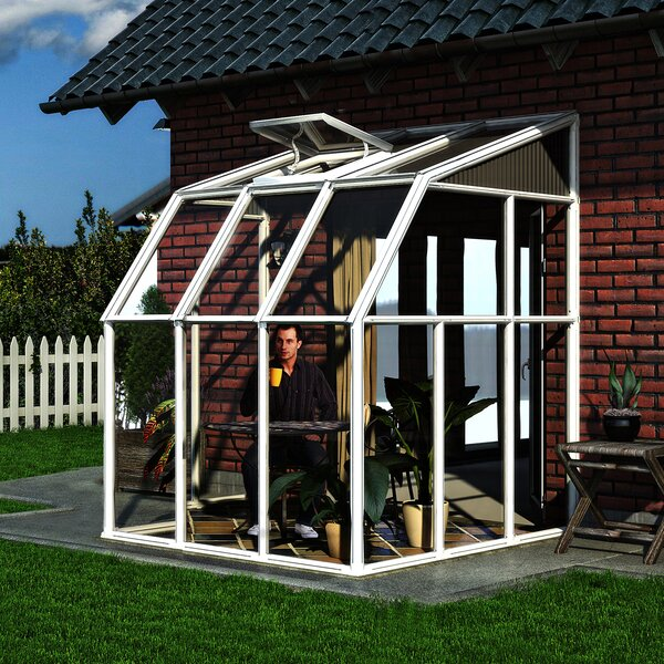 Sun Room 2 6.5 Ft. W x 6.5 Ft. D Greenhouse by Rion Greenhouses