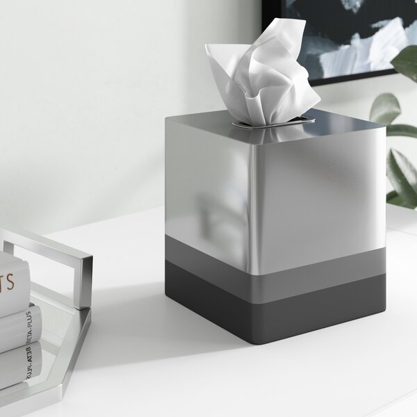 Agincourt Tissue Box Cover by Wrought Studio