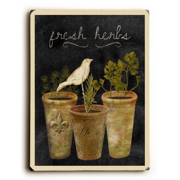 Fresh Herbs Graphic Art by Artehouse LLC