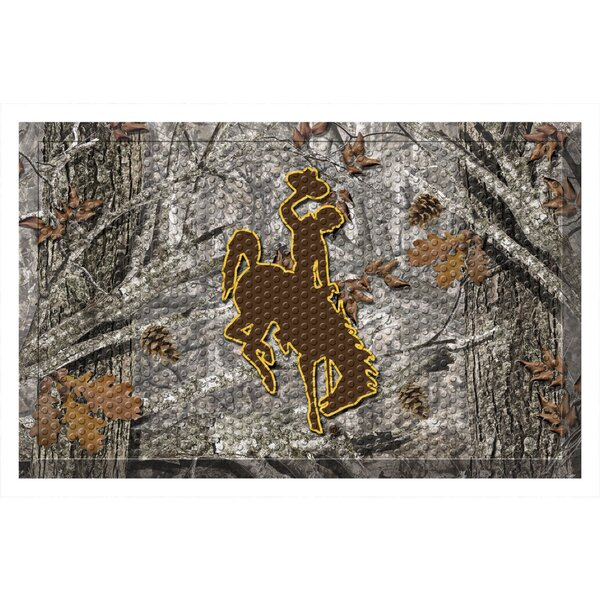 University of Wyoming Doormat by FANMATS